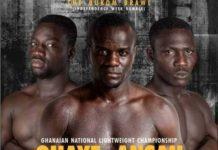 Boxing Qyaye vs Ansah
