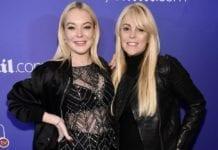 Lindsay and Dina Lohan