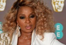 Mary J. Blige. Picture: Reuters