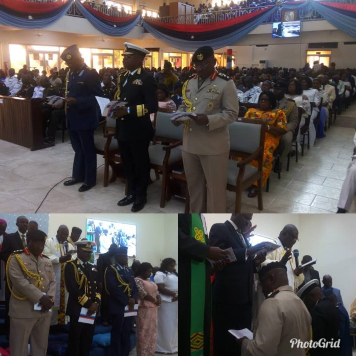 Latest Ghana News: New CNS, CAS And COS Of The Ghana Armed Forces Received