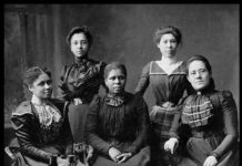 Women Suffrage movement organizers
