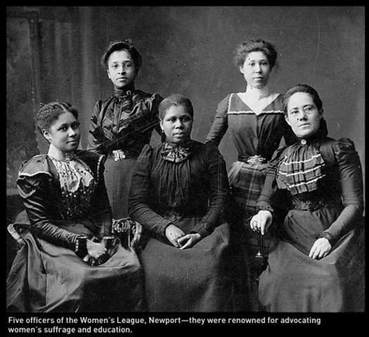 Women Suffrage movement organizers
