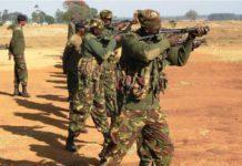 Kenya Defense Forces training [Courtesy]
