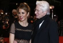 Alejandra Silva and Richard Gere