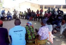 A cross-section of the participants at the community durbar in Bullu in the Sissala West District