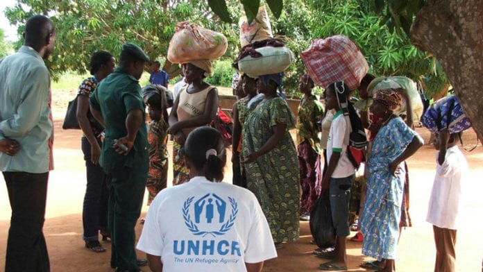 More than 30,000 Togolese sought asylum in Ghana and other neighboring countries following the 2005 election results. Photo: UNHCR/D. Kamphuis