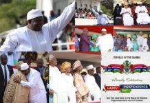 Gambia celebrates 54th anniversary