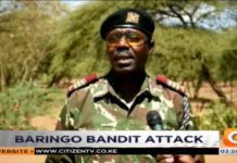 Bandits kill 2 police reservists in northwest Kenya