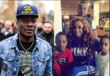 Asamoah Gyans Wife And Kidz