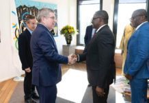 GOC President visits IOC headquarters