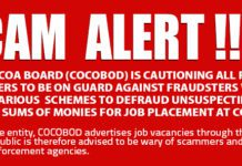 Cocobod Scam