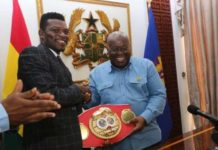 Commey Calls On President