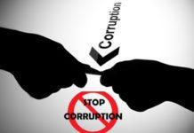 Corruption Demonstration