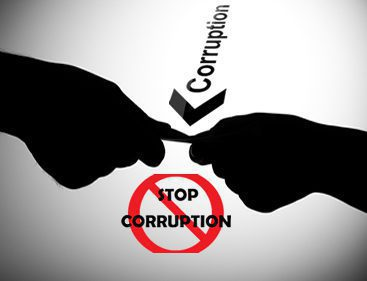 Corruption Demonstration