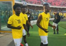 Ghana Black Stars Walking