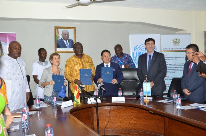 Ghana Partners With Unido
