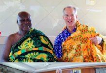 Mr Barnes Visit Sunyani