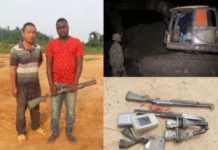 Op Vanguard Arrest Galamsey