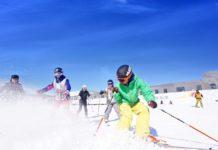 Residents Ski