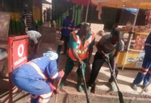 Mce Leads Sanitation Exercise