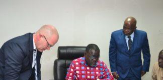 Ghana, Denmark sign strategic maritime sector cooperation
