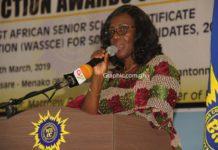 Head of Ghana Office of WAEC, Mrs Wendy Addy-Lamptey