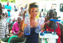 Water Filter Outreach Work Ghana