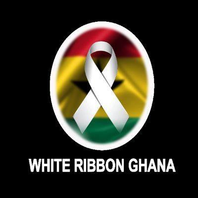 White Ribbon Ghana Logo