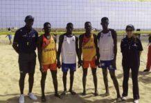 Ghana's Beach Volleyball Team