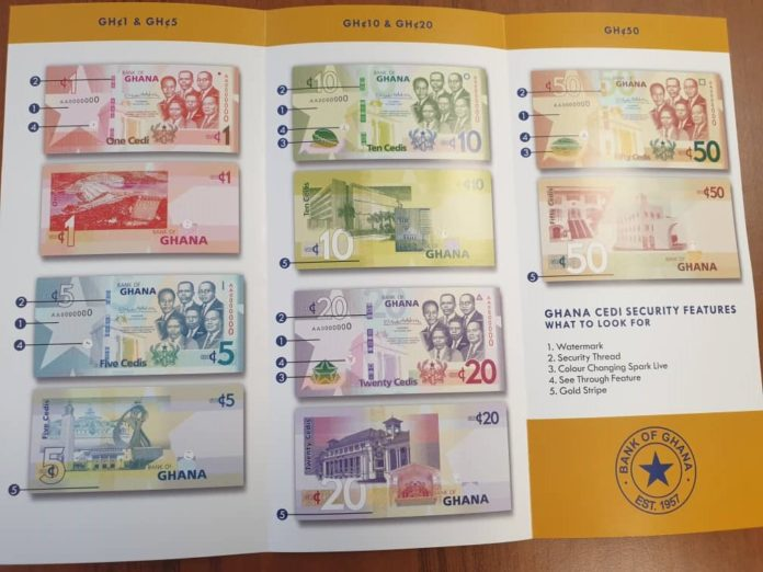 Bank of Ghana to introduce upgraded banknotes