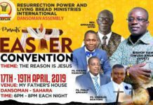 Social Churches Easter