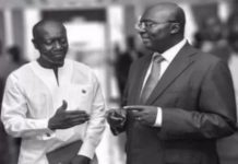 Ofori-Atta and Dr Bawumia; Members of Economic Mg'ment Committee