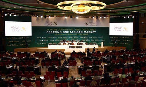 African Union Summit On Free Trade Area March