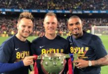 K.P Boateng Becomes First Ghanaian To Win La Liga After Barcelona Triumph