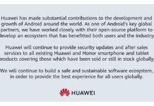 Huawei Reassures Customers