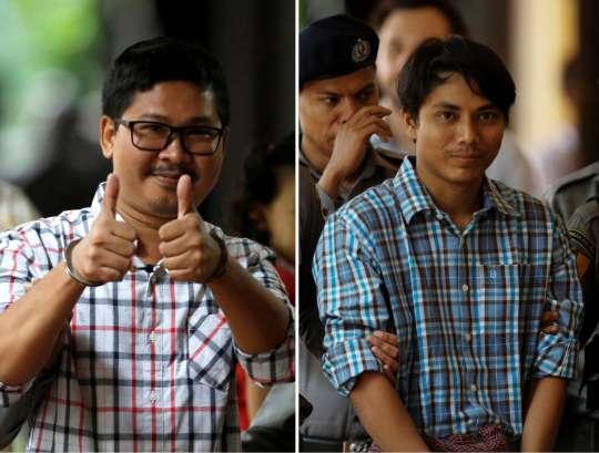 Kyaw Soe Oo And Wa Lone