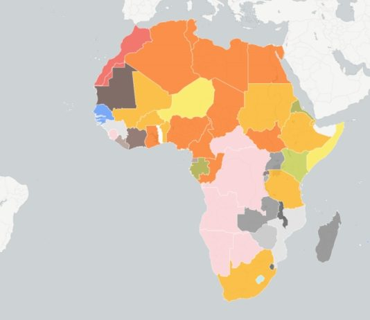 Mapping Africa