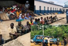Operation Vanguard Arrest Suspected Illegal Miners