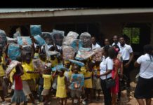 World Inspiring Network and Church of Pentecost Donates educational items to Osunu Dompe Methodist Primary School