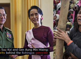 Myanmar is accused of committing genocide on Rohingyas