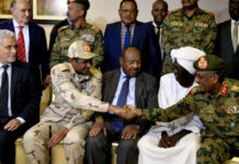 Sudan Agreement Signed On July By Tmc And Ffc Along With African Union Mediator
