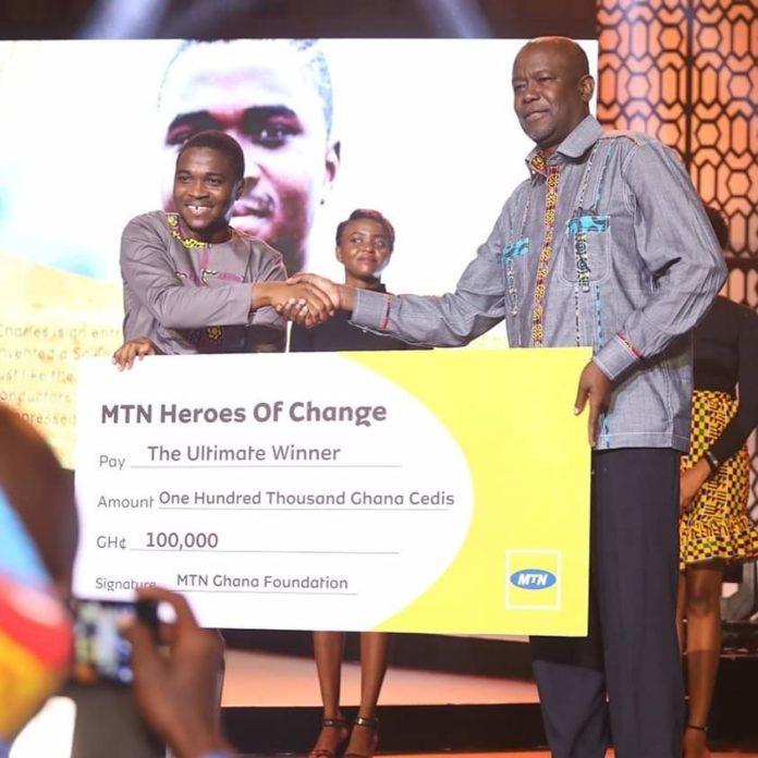 MTN Heroes of Change Season V: Science set inventor, 26yrs
