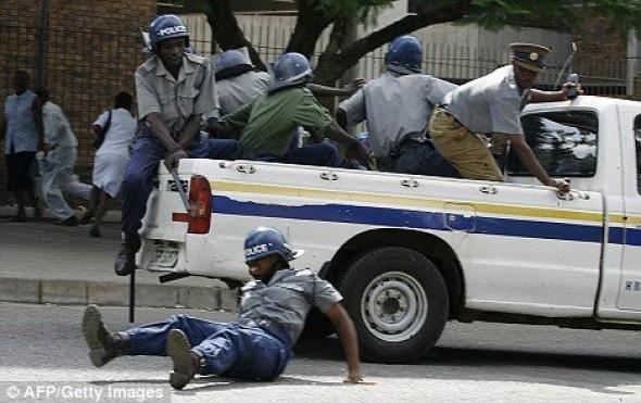 Zimbabwean police