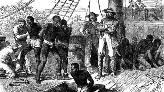 trans-Atlantic slave-trade