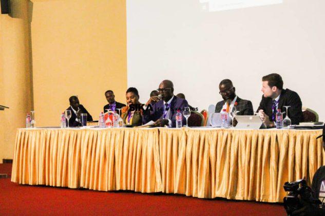 Dr. Kofi Amoah At GFA Extra-Ordinary Congress