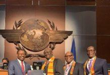 Ghana receives prestigious awards at un aviation agency assembly