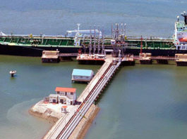 An oil tanker off-loading crude oil at the KPA's Kipevu oil terminal in Mombasa. FILE PHOTO | NATION MEDIA GROUP