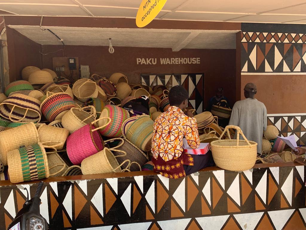 One of the Warehouses of Paku Enterprise Ghana in Bolgatanga of the Upper East Region