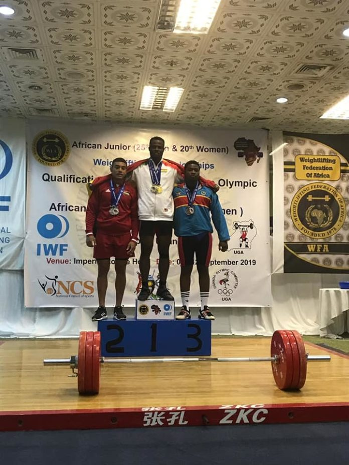 Christian Amoah Wins Three Gold Medals