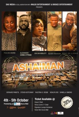 Ashaiman movie thriller